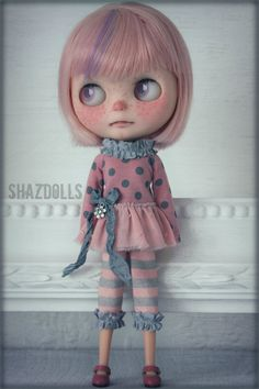 Hey, I found this really awesome Etsy listing at https://www.etsy.com/listing/232823334/summer-sale-pinkgrey-outfit-for-blythe