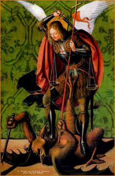 St Michael and the Dragon BARTOLOME BERMEJO