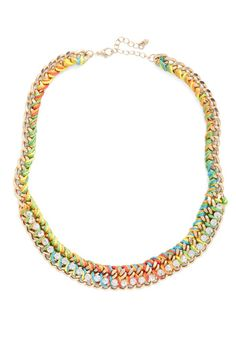 Luxe-y to Be Your Friend Necklace, #ModCloth