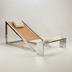Mies Chair & Ottoman, Archizoom Associati, 1969