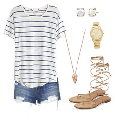 """""""Untitled #20"""" by sydney-alexis-spradley on Polyvore featuring Topshop, Michael Kors, Madewell, Pamela Love and Irene Neuwirth"""