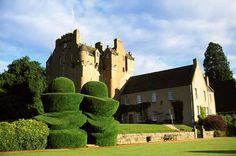 Crathes Castle, Banchory, Aberdeenshire, Scotland.