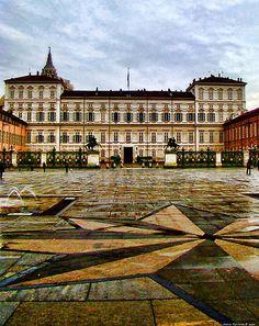 Palazzo Reale, Torino, Italy Learn Italian in Turin : www.ciaoitaly-turin.com