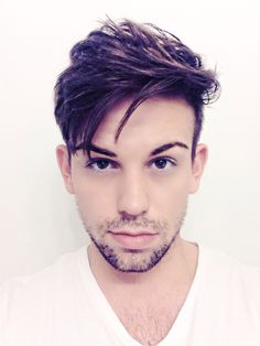 Messy, long, texturized hair for men. It's in. Embrace it. Men's Hairstyle 2013 & 2014