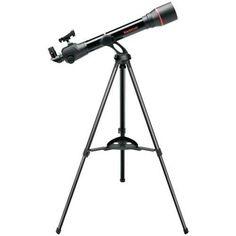 negro Telescopio 60 mm x 700 mm Bushnell Voyager SkyTour Refractor