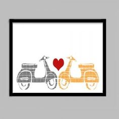 Scooters bring people together  #ridecolorfully, #katespadeny and #vespa