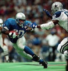Barry Sanders could stop on a dime and make a cut that would break the defense ankles