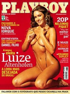 Playboy Brazil October 2006 Cover featured by Luize Altenhofen