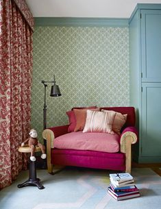 With the help of interior designer Nicola Harding, a couple in London has united three flats in a nineteenth-century house to create a family home, using atmospheric colours and a characterful mix of furniture. Decor, Furniture, House, Traditional Decor, Interior, London House, Home Decor, Interior Design, 19th Century London