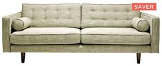 Oz Design Tatler lounge in charcoal (pewter).   - 2 & 3 seater  - colour- pewter