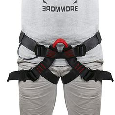 Climbing-Climbing Harness,Protect Leg Waist Wider Safe Seat Belt, Mountaineering Outward Band Fire Rescue Caving Rock Climbing Rappelling, Women Man Child Half Body Guide Harness * To view further for this item, visit the image link.