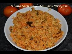 Sharing how to make tomato biryani in pressure cooker with stepwise pictures and thakkali biryani video recipe. perfect lunch box ideas for south Indian kid Lunch Box Recipes, Rice Recipes, Vegetarian Recipes, Cooking Recipes, Healthy Recipes, Healthy Food, Recipes In Tamil, Indian Food Recipes, Ethnic Recipes