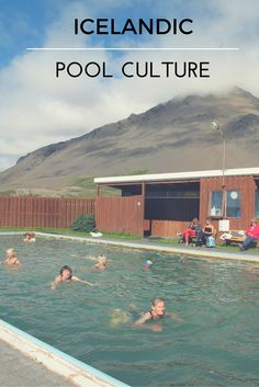 Our new blog post on the unique pool culture in Iceland | Svava Sparey Yoga Holidays #iceland #travel