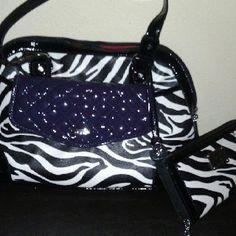 Create your own look & style Zebra w/purple clutch http://abrady.graceadele.us