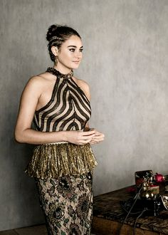 Shailene Woodley photographed by Mark Leibowitz at the Second Annual 'InStyle Awards' presented by InStyle at Getty Center on October 24, 2016 in Los Angeles, California.