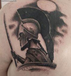 Tatuaje hecho por Kiko de Córdoba (España). Si quieres ponerte en contacto con él para un tatuaje/diseño o ver más trabajos suyos visita su perfil: https://www.zonatattoos.com/eolo  Si quieres ver más tatuajes de guerreros visita este otro enlace: https://www.zonatattoos.com/tag/107/tatuajes-de-guerreros  Más sobre la foto: https://www.zonatattoos.com/tatuaje.php?tatuaje=111695