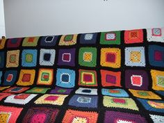Ravelry: Project Gallery for Granny Square Afghan pattern by Loops & Threads™ Design Team