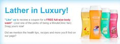FREE full size body wash from CVS!! Exp. 5/31/13