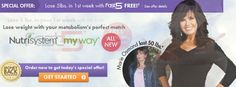 Marie Osmond & Nutrisystem My Way and Lose 5 Pounds Fast