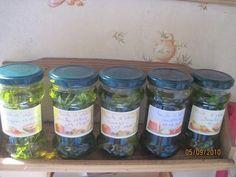 Huile d'olive (ou autres) aromatisé