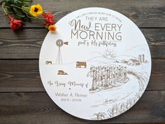 Cattle Farming Memorial Gift, Farm Sympathy Gift, Personalized Sympathy Gift, Farming Funeral Gift, Engraved Memorial Gift,Memorial Scene Godparent Gifts, Baptism Gifts, Baby Dedication Gifts, Personalized Memorial Gifts, Funeral Gifts, Cattle Farming, Sign Display, Sympathy Gifts, Religious Gifts