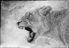 Lioness by Akai-GazettE