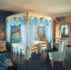 European Carved Furniture | royal bedroom | Tumblr