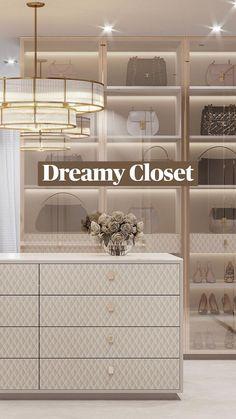 Dressing Room Closet, Luxury Closet, Interior Decorating, Interior Design, Closet Designs, Luxury Living, Home And Living, Interior Architecture, Decoration