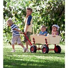 Multipurpose Wooden Wagon