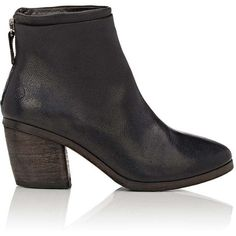 Marsèll Women's Layered-Detail Ankle Boots (18.055 ARS) ❤ liked on Polyvore featuring shoes, boots, ankle booties, black, black boots, black ankle boots, short black boots, black high heel booties and black high heel bootie