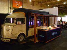 Citroen H Van, Food Vans, Mobile Bar, Food Stall, Food To Go, Slow Food, Exhibition Ideas, Grills, Coffee