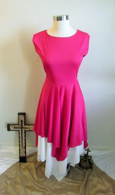 Joy Pink Praise and Worship Dance Tunic by shopAlabasterBox on Etsy