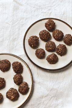 Zero Waste Snack – Energy balls einfach und schnell selber machen Partys, Dessert, Kakao, Zero, Breakfast, Blog, Valentine Gift For Him, Finger Food, Diy