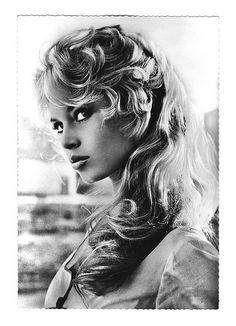 Brigitte Bardot postcard   Flickr - Photo Sharing!