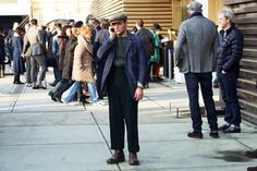 Streetstyle Pitti Uomo 83 2013 [credits: Tommy Ton]