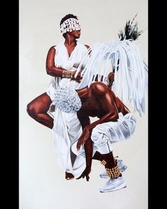 Fahamu Pecou is an Atlanta-based artist who explores the topic of black masculinity, its expression by African Americans and its portrayal in the public sphere. African American Artist, American Artists, Famous Black Artists, Bel Art, Afro, African Women, Love Art, Art History, Black And Brown