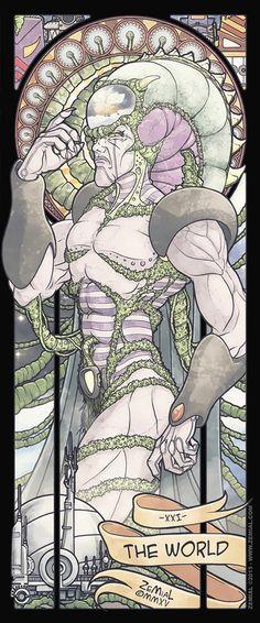 The Shonen Avengers : XXI - The World (Diskor) THE SHÕNEN DARKNESS : vingt et…