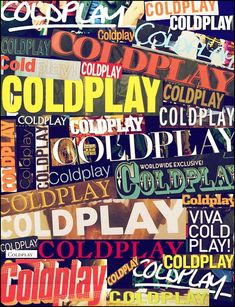 Coldplay magazine headlines :)