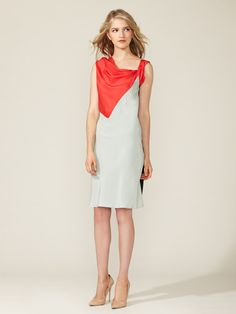 Colorblock Scarf Dress by Derek Lam on Gilt.com $499.00