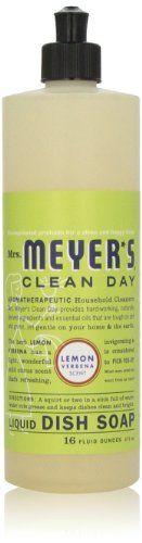 Mrs. Meyer's Clean Day Dish Soap, Lemon Verbena, 16 Oz Mrs. Meyer's Clean Day http://www.amazon.com/dp/B000S5S1AI/ref=cm_sw_r_pi_dp_W7mStb1W81CQ8FT0