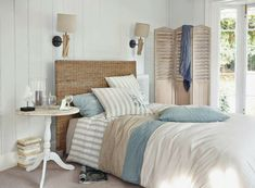 Chambre Bleu Taupe : Print design, Print fabrics and Home decor on ...