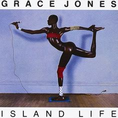 Grace Jones - Island Life Best Album Covers, Art | Greatest of All Time| #albumCover #musicisart