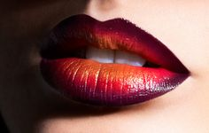 ombre lips | Maquillaje para Halloween: Ombre Lips
