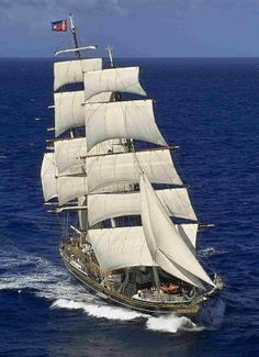 """""""Stad Amsterdam"""". Modern Reconstruction of a Dutch Clipper Ship                                                                                                                                                      Mais"""