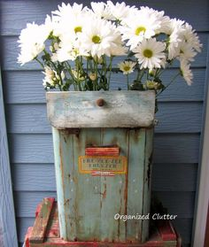 junk to decorate the patio and gardens, flowers, gardening, home decor, patio, repurposing upcycling