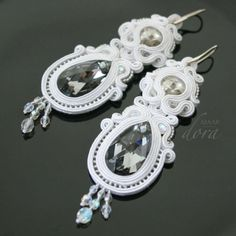 Dora Maar - biżuteria sutasz i beadwork: Biżuteria ślubna * Bridal