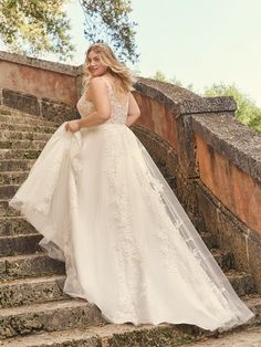 A Line Bridal Gowns, Couture Wedding Gowns, Best Gowns, Maggie Sottero Wedding Dresses, Curvy Bride, Wedding Dress Boutiques, Bridal Looks, Boutique Dresses, Beautiful Bride