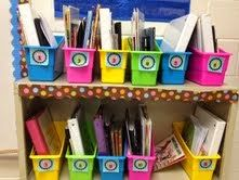 Organize your students' writing materials (for house this year)