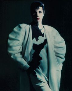 Claude Montana, Ensemble, photographed by Paolo Roversi for Harper's Bazaar…