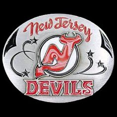 "Checkout our #LicensedGear products FREE SHIPPING + 10% OFF Coupon Code ""Official"" New Jersey Devils Team Belt Buckle - Officially licensed NHL product Fully cast, metal buckle Bail fits belts up to 2 inches wide Exceptional detail with an enameled finish New Jersey Devils buckle - Price: $23.00. Buy now at https://officiallylicensedgear.com/new-jersey-devils-team-belt-buckle-hb50"